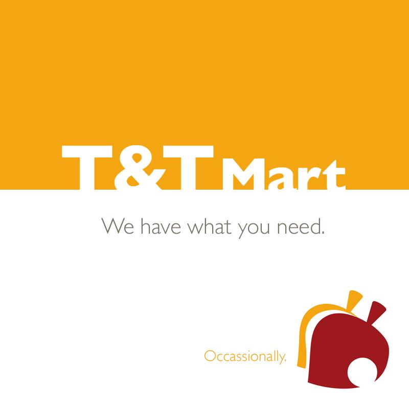 T&T Mart, Animal Crossing