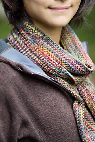 Koigu Linen Stitch Scarf Pattern