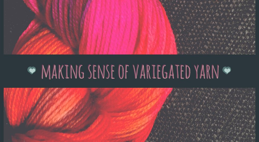 Making sense of variegated yarn