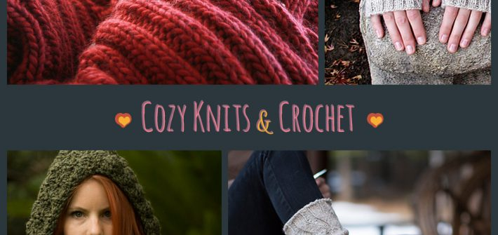 Cozy Knits and Crochet Patterns