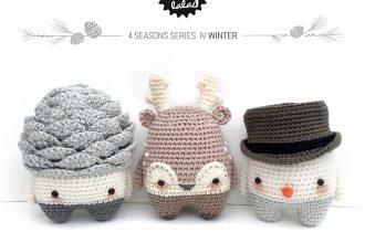 Lalylala 4 Seasons Winter Amigurumi