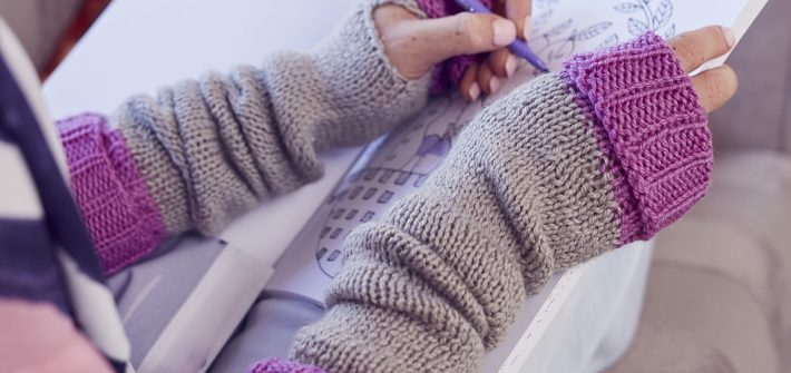 Saturday Afternoon Armwarmers Knitting Pattern