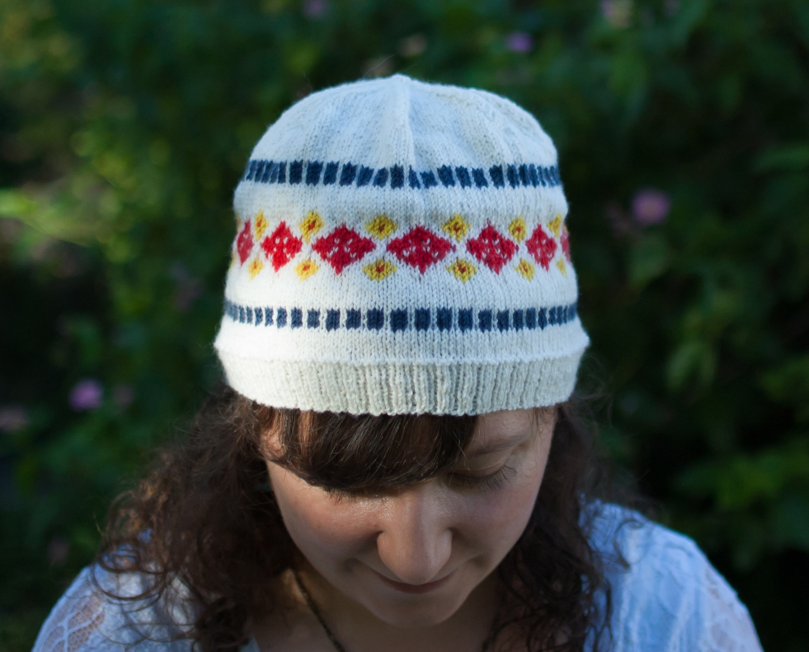 Nice Cuppa hat knitting pattern