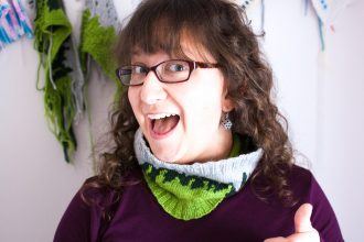 A D&D Inspired color work knitting pattern