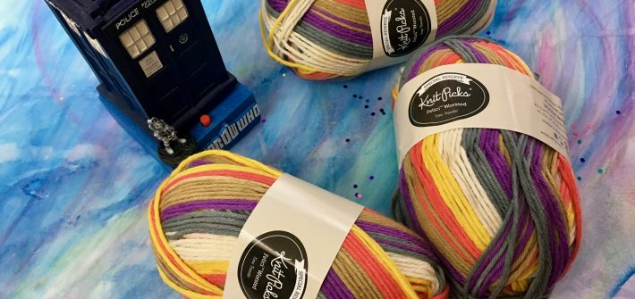 Traveler Colorway - Felici Worsted from Knit Picks