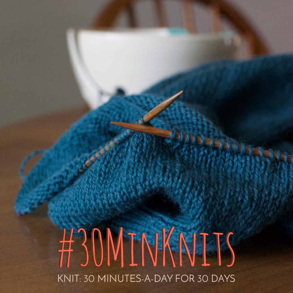 #30MinKnits Challenge