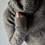 Lanvad Cowled Sweater by Justyna Lorkowska